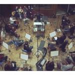 Accordzéâm et le Paris Scoring Orchestra au studio Davout (photo Anaëlle Trum.K)