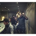 Accordzéâm au studio Davout : Jonathan en régie (photo Anaëlle Trum.K)
